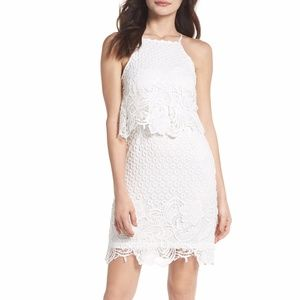 NWT BB Dakota Bryn Lace Halter Dress 4